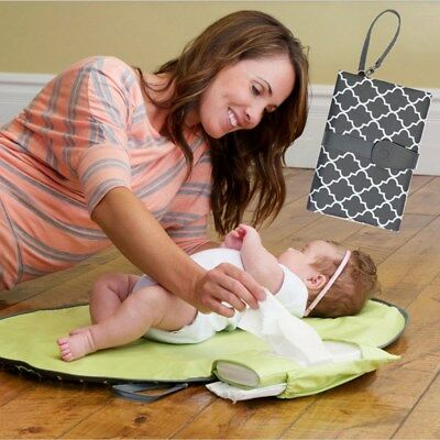 Baby Infant Waterproof Urinat Nappy Changing Mat Pad Portable Diaper