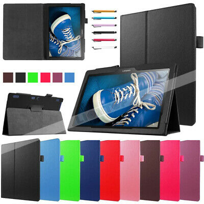 """For Lenovo Tab 4 10 10.1"""" Tablets TB-X304F TB-X103F E10 Smart Leather Case Cover"""