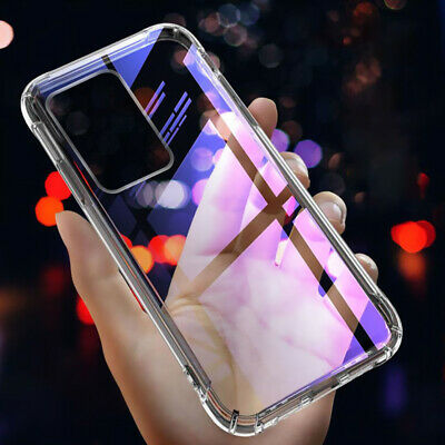 Shockproof Bumper Clear Silicone Case Cover For Samsung Galaxy S10  Note 10 Plus