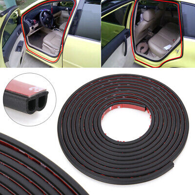 5M B-Shape Type Moulding Trim Rubber Strip Car Door Edge Seal Weather-strip