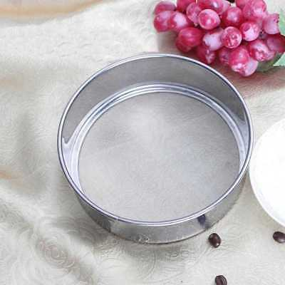 Kitchen Mesh Flour Sifting Sifter Sieve Strainer Baking Cake 304 Stainless~Stell