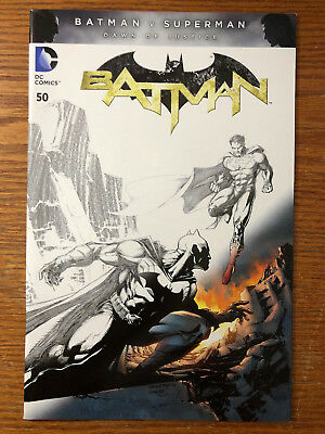 Batman #50 Jim Lee Sketch Color Fade Variant DC Comics 2011 NM The New 52 2016