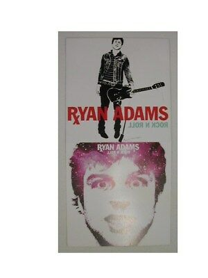 Ryan Adams 2 Sided Promo Poster and Pamphlet