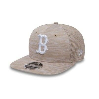858dbe4f6be2 New Era MLB Boston Red Sox Beige Engineered Original Fit Adjustable  Snapback Hat