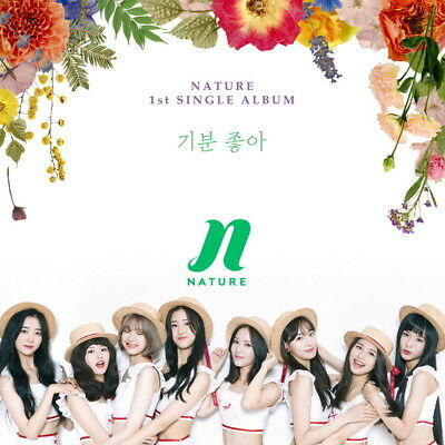 NATURE [FEEL SO GOOD] 1st Single Album CD+POSTER+Photo Book+Card K-POP SEALED