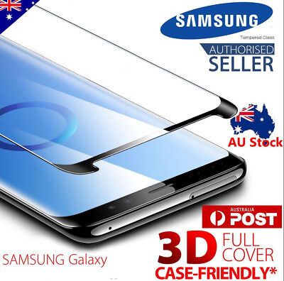 Galaxy Note 9 Case Friendly Tempered Glass Screen Protector Samsung Note9
