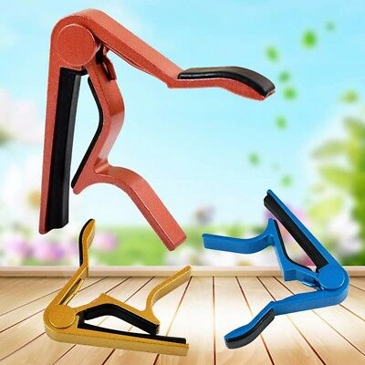 Guitar Capo Key Clamp Trigger Quick Change For Acoustic Electirc Classic Guitar