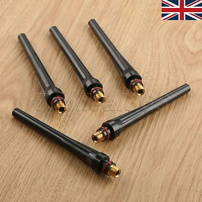 Fast Shipping 5pcs TIG Long Back Cap 57Y02 For TIG Welding WP-17/18/26 Torch