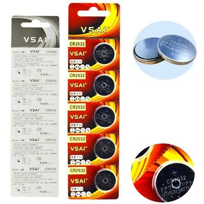 5/10/50X CR2032 3V Button Cell Battery Electronic Button Cells Button Battery AU