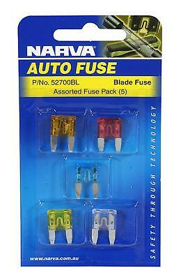 Narva Mini Blade Fuse 3Amp Pack of 5 52703BL Free Shipping!