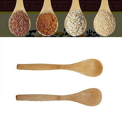 6PC Set Bamboo Wooden Cooking Tools Utensil Kitchen Spatula Spoon Mixing New