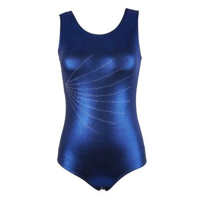 Womens Adult Gym Ballet Gymnastics Leotard Unitard Spandex Sleeveless Dancewear