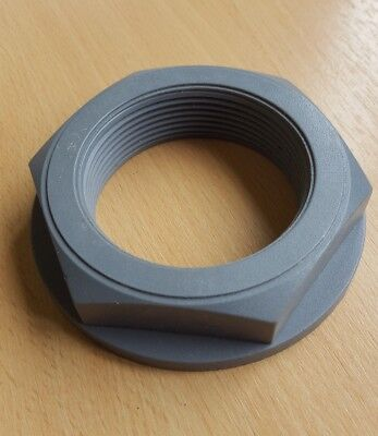 "2"" BSP Plastic Nut (ABS/PVC)  Flanged - Typically used with Tank Connectors"