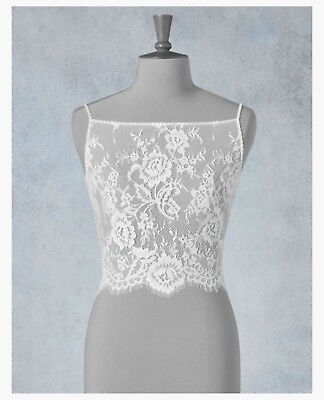 NEW- With Tags. Amixi Bridal Lace Top, Cover Up, Jacket, Wedding, Bridal