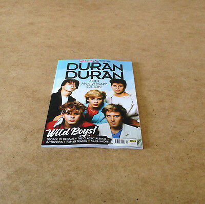 CLASSIC POP PRESENTS DURAN DURAN SPECIAL EDITION WILD BOYS COLLECTOR COVER No.1