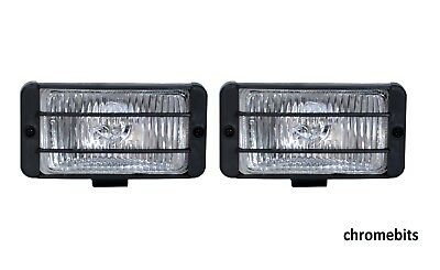 2X 12V 4X4 Offroad Car Fog Spot Light Lights Lamp Bull Bar Roof 7.5Cm X 14.5Cm
