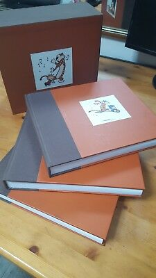 The Complete Calvin And Hobbes Hardcover Boxset Collection by Bill Watterson