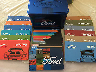 2017 50c Ford Heritage 12 Coins Collection Set with Tin -#002- PENNY5 - 5%OFF