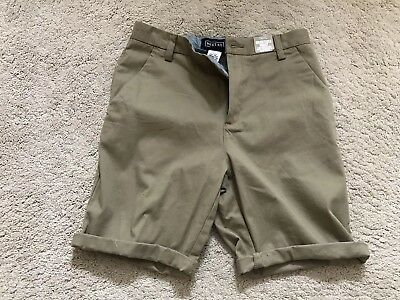 Boys Beige Cargo Shorts From Next-age 13 Never Worn