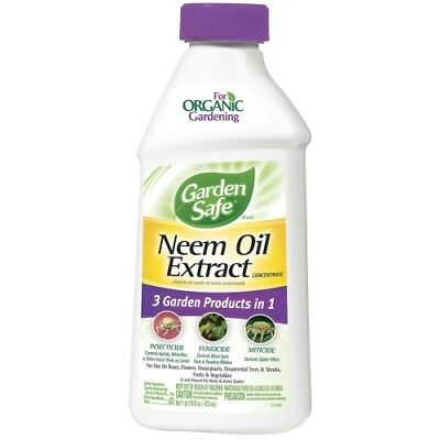 Garden Safe Neem Oil Extract Concentrate (HG-83179), 1 Pack (16 fl oz)