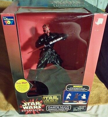 Darth Maul Interactive Talking Bank in original box as is MPN#064442 137090