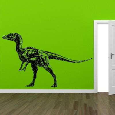 RAPTOR DINOSAUR wall sticker decal kids wall graphics removable decal