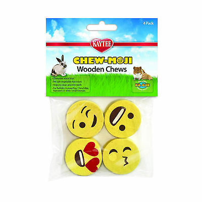Kaytee Chew-Moji Wood Chews For Rabbit Hamster Guinea Pig Chinchilla