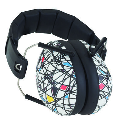 Banz Kids Ear Noise Attenuating Defenders Ear-Muffs 2 - 10 years Squiggle