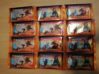 12x Battlebond Booster englisch, geöffnet! Magic the Gathering! MTG