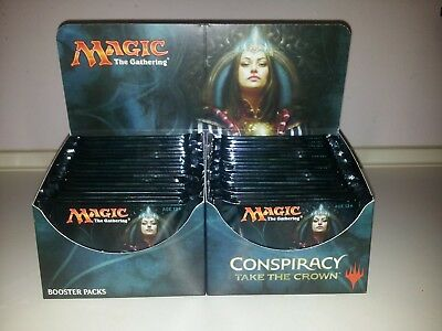 1x Conspiracy: Take the Crown Booster Display englisch, geöffnet! Magic, MTG!
