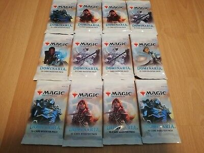 12x Dominaria Booster englisch, geöffnet! Magic the Gathering! MTG