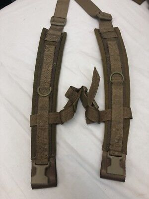 Eagle Industries TSSI M9 Medical Pack Padded Shoulder Straps RUCK ALICE Coyote