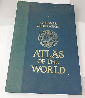 National Geographic Atlas of the World, 5th edition 1981. Job Lot.