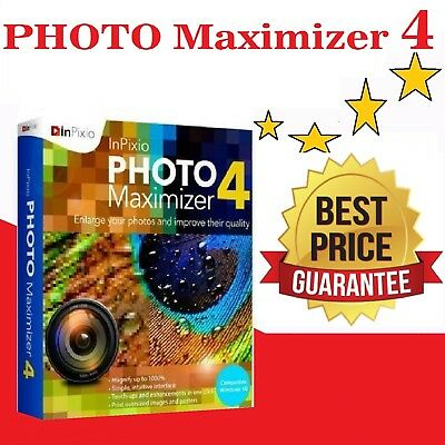 Photo Maximizer 4 Enlarge,smallest Photo Zoom image🔥DIGITAL INSTANT DELIVERY