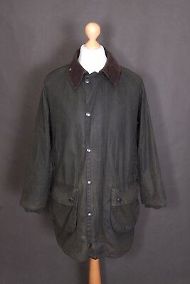 Barbour A123 Gamefair Waxed Jacket C40 /102cm Olive Green Men's Hunting Coat Wax