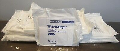 Welch Allyn 39048 Disposable Blood Pressure Cuff Soft Adult 1 Tube Set of 80