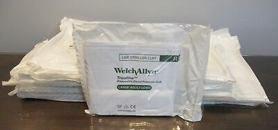 Welch Allyn 39060 Disposable Blood Pressure Cuff 1 Tube Large Adult Long Lot 80