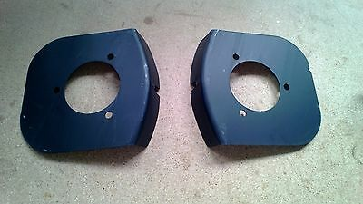 Mk2 Escort RS type inner wing strut top plates, pair, NEW rally RS 25-19-43-0Ex2