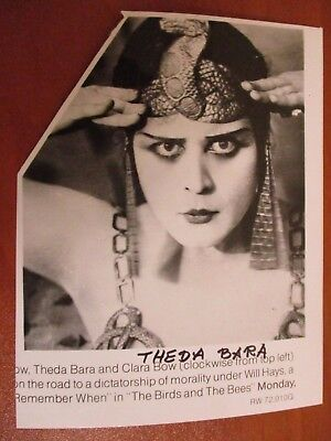 The She Devil Theda Bara Repro Film POSTER