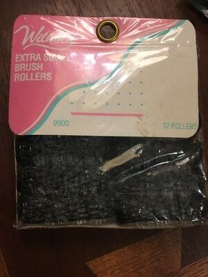 Vintage MESH Wire Brush HAIR ROLLERS Extra small 1,package 12 Curlers