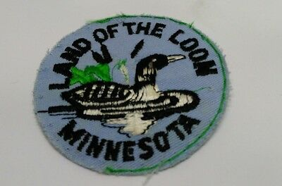 Vintage Land of the Loon Minnesota patch