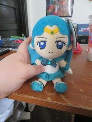 "Sailor Neptune Plush 7"" Brand new with tags!"