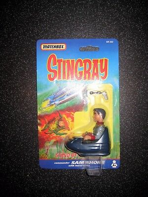 SAM SHORE MATCHBOX 1992 Gerry Anderson Stingray Action Figure SEALED MINT COND.