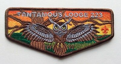 Tantamous Lodge #223 (S-1) ... 1st Flap from the new Mayflower Council