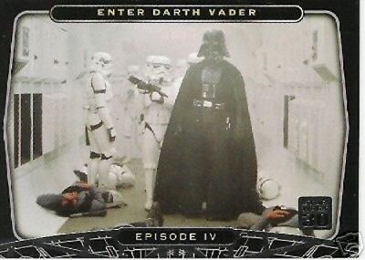 "SDCC Star Wars Episode IV ""Enter Darth Vader"" P1 Promo Card"