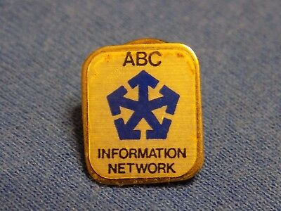 ABC Information Network lapel / hat pin