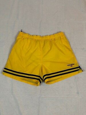 27ea77faec ... where to buy polo sport ralph lauren swim trunks vintage size xlarge xl  bright yellow shorts ...