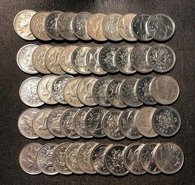 20 High Quality Low Mintage Coins FREE SHIPPING Old Bahamas Coin Lot