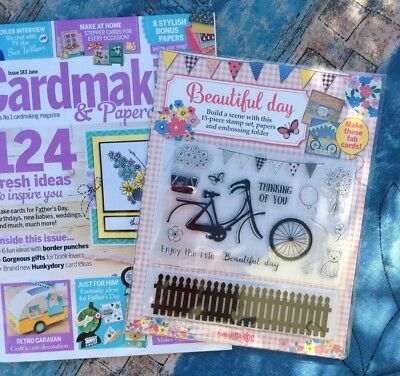 Cardmaking Papercraft Magazine Issue 183 With Free Gift 595