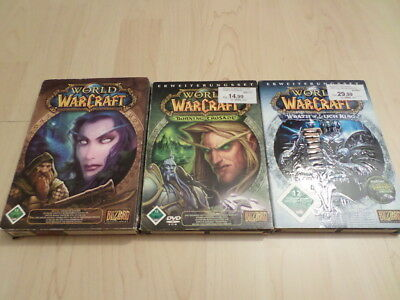 World of Warcraft + The Burning Crusade + Wrath of the Lich King
